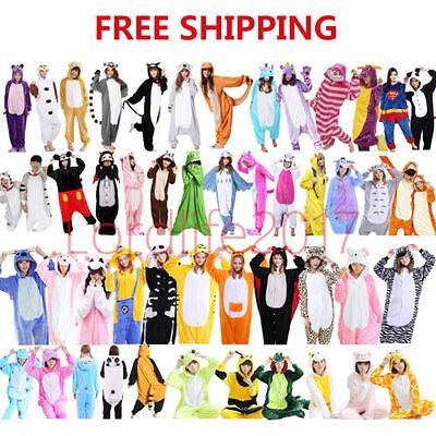 Women Adult Unisex Animal Pajamas Costume Cosplay Party Kigurumi Sleepwear Onex - Party Animal Costume