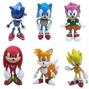 Sonic The Hedgehog Action Figures Lot