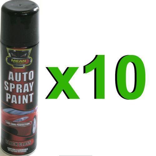 car spray paint black gloss ebay. Black Bedroom Furniture Sets. Home Design Ideas