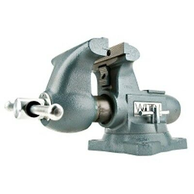 Wilton 63202 Tradesman Bench Vise 1780a 8 Jaw Width Swivel Base Made In Usa