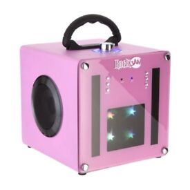 Rockjam Party Bluetooth Disco Party Speaker, PINK BRAND NEW SEALED