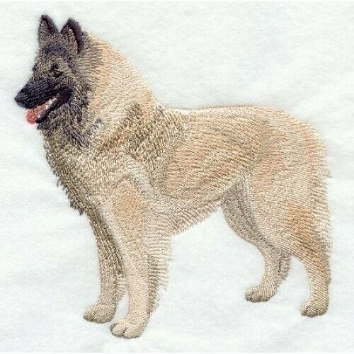 Embroidered Ladies Fleece Jacket - Belgian Tervuren C5194 Sizes S - XXL