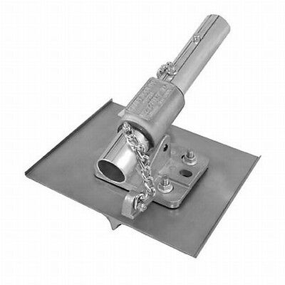 Kraft Tool Walking Concrete Groover Stainless Steel Wez-tilt Bracket 34 Bit
