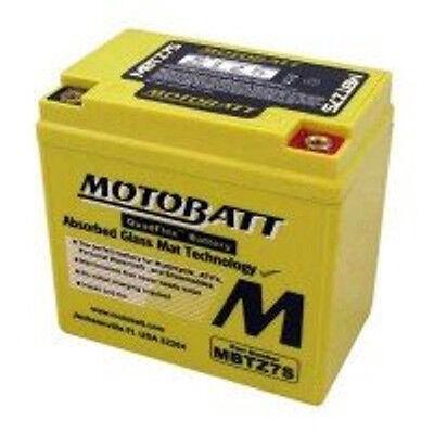 MotoBatt MBTZ7S AGM Sealed QuadFlex Tech Sport Bike Scooter Replacement Battery