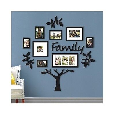 Family Tree Frame Collage Pictures Frames Multi Photo Mount Wall Decor Wedding