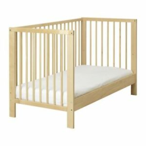 WANTED:    Side rail to convert IKEA crib to toddler bed