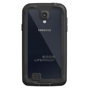 LifeProof Cell Phone Case for Samsung Galaxy S 4 - Black (1802-01)
