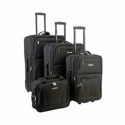 unisex 4 piece luggage set f32