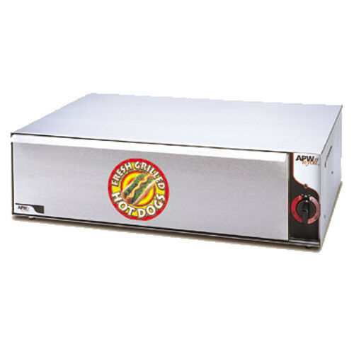 Apw Wyott Bw-31 Hot Dog Bun Warmer With 72 Bun Capacity