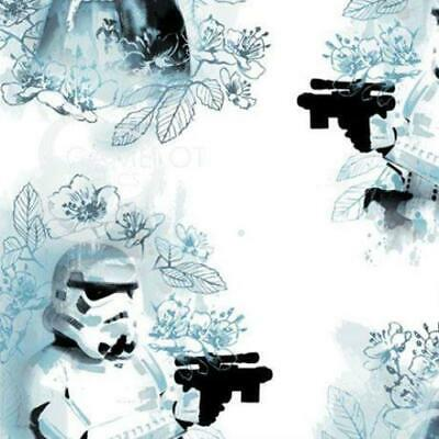Star Wars Watercolour - Villains - Cotton Print Fabric - half metre