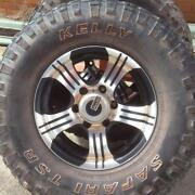 Nissan Navara D22 Wheels Tyres