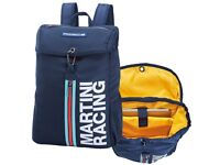 GENUINE PORSCHE DRIVERS SELECTION MARTINI RACING RUCKSACK BACKPACK BLUE NEW
