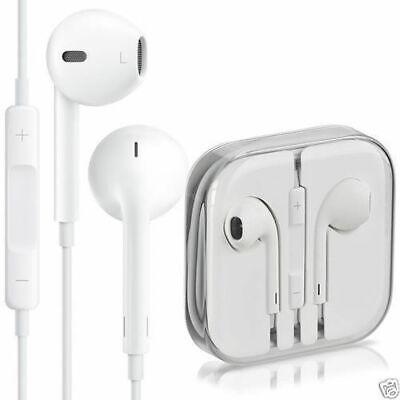 Geniuine Apple Earphones Headphones Ear-pods for iPhone 5 6 6s iPad Hands-free