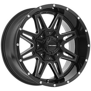 "20"" Wheel Set Ford F150 Silverado Sierra Pro Comp Wheels Rim 20"