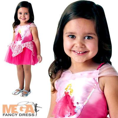 Ballerina Sleeping Beauty Girls Disney Princess Fancy Dress Childrens Costume