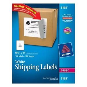 avery full sheet labels - Avery Colored Labels