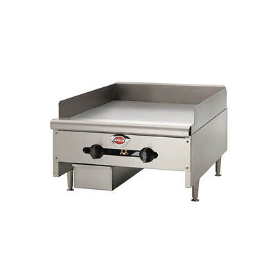Wells Hdg-3630g-qs 36 Quickship Countertop Manual Griddle W 34 Plate - Nat