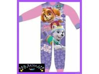 OFFICIAL PAW PATROL GIRLS ALL IN ONE ONESIE