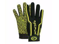 Optimum Velocity Thermal Full Fingered Gloves Mens Large