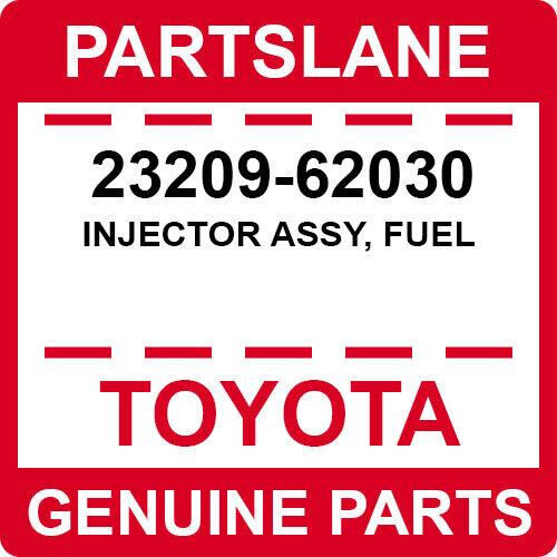 23209-62030 Toyota Oem Genuine Injector Assy, Fuel