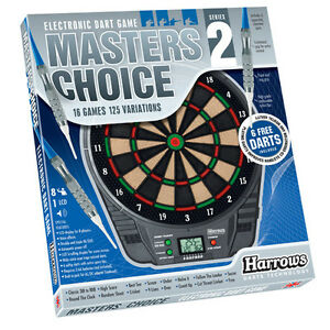New Harrows Masters Choice 2 Two Electronic Dart Board Dartboard