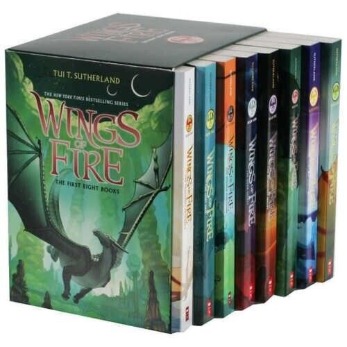 Wings of Fire 1-12 Books Set By Tui T. Sutherland   FDP