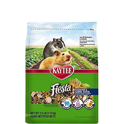 - Kaytee Fiesta Hamster And Gerbil Food, 2.5-Lb Bag
