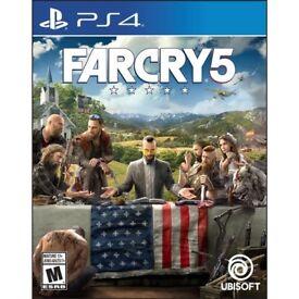 FarCry5 still sealed. PS4