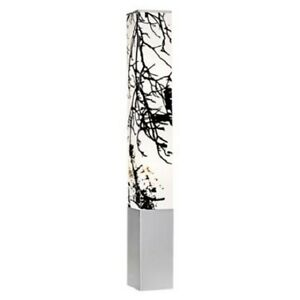 Modern autumn branch white and black tower floor lamp ebay for Modern tower floor lamp