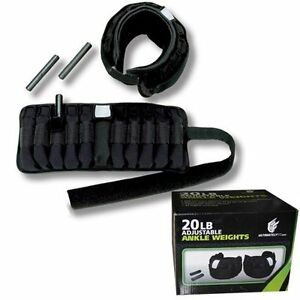 20 lbs Ajustable Ankle Weights