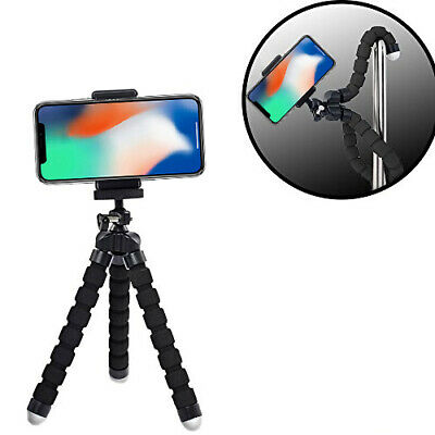 """6.5"""" Flexible Tripod With Universal Mount for iPhone 11 Pro Xs Max Xr 8 8+ 7"""
