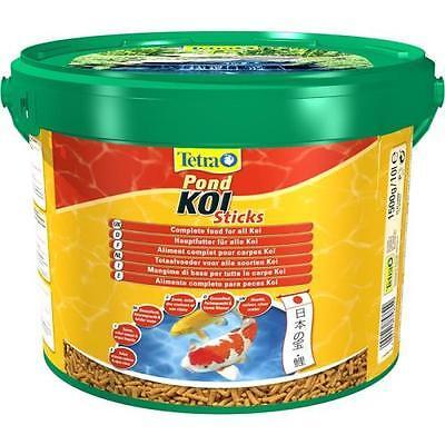 Tetra Pond Koi Sticks 10 l Teichfutter Hauptfutter für Koi