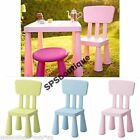 IKEA Plastic Chairs and Tables for Children