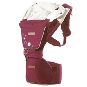 Baby Carrier with Hip Seat for Newborns, Babies & Toddlers - Red - Ship accross Canada