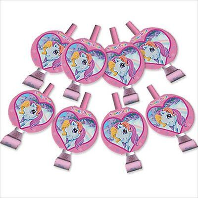 MY LITTLE PONY BLOWOUTS (8) ~ Birthday Party Supplies Favors MLP Rainbow Dash - Pony Party Supplies
