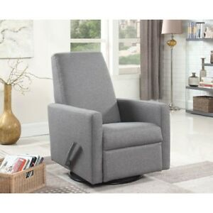 Aston 600 Swivel Glider Recliner - Grey - NEW IN BOX