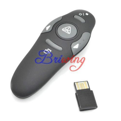 logitech wireless presenter r400 user manual