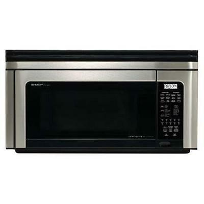 Sharp 1.1 Cu. Ft. Over-the-range Microwave Convection Oven R-1880lst Dmg 1