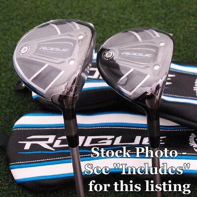 Callaway 2018 Rogue 7&9 Fairway Woods 2pc SET Quaranta 50 Graphite Regular NEW for sale  Shipping to India