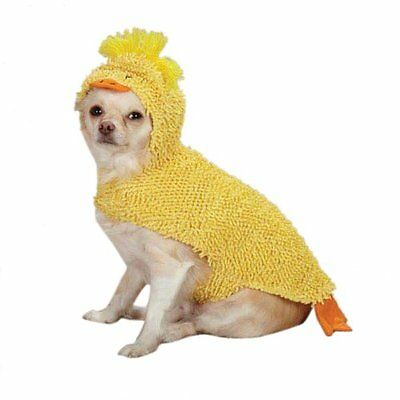 X Small Dog Halloween Costumes (HALLOWEEN Dog Costume - JUST DUCKY - Duck X-Small & Small NEW)