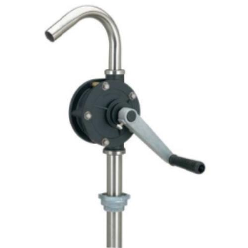 Airgas LX-1321 Barrel Pump, Heavy Duty, Rotary, Stainless Steel, For Corrosive