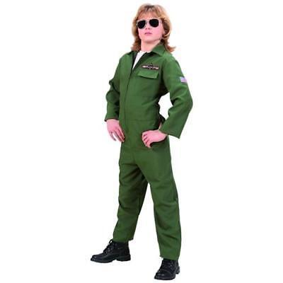 Boys Top Gun  Pilot Kinder Kostüm Karneval 158 cm 11- 13 Jahre