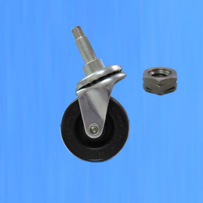DeSoutter Clean Cast System Chassis Caster Assembly - Caster & Nut ()