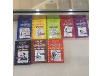 Diary Of A Wimpy Kids Book (Job Lot)