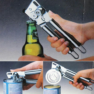 New Heavy Duty Stainless Steel Can Bottle Jar Lid Opener Manual Kitchen Tool