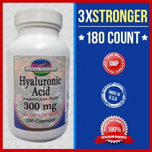 Triple Strength Hyaluronic Acid 300mg 180 Caps -quality-p...