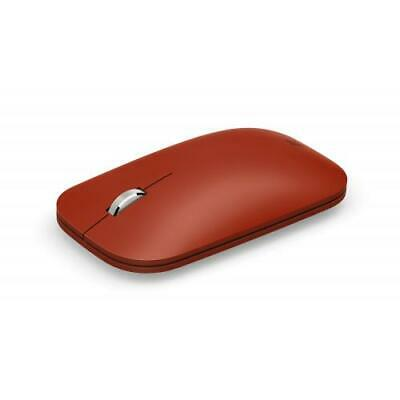 Microsoft Surface Mobile Mouse Poppy Red - Wireless- Bluetooth Connectivity