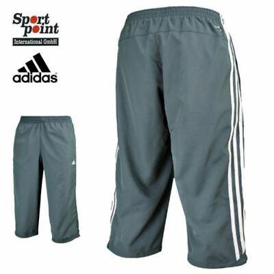 Adidas Essentials 3 Stripes 3/4 Hosen Caprihosen UNISEX Trainingshose Neu! OVP Training Capri-hosen