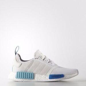 Adidas W NMD Nomad Runner Mesh White/White/Blue Glow S75235