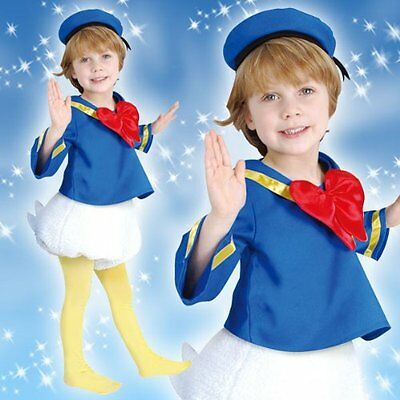 Brand new Child Disney Donald Duck Tod Costume for Child Halloween Boys Girls (Donald Duck Child Costume)